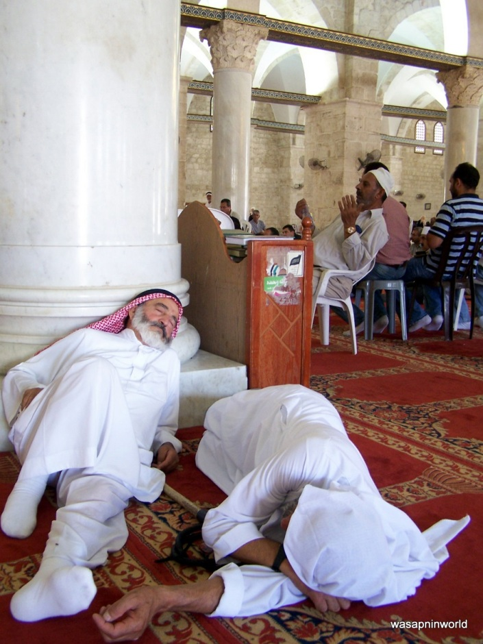 Taking a nap after Jummah