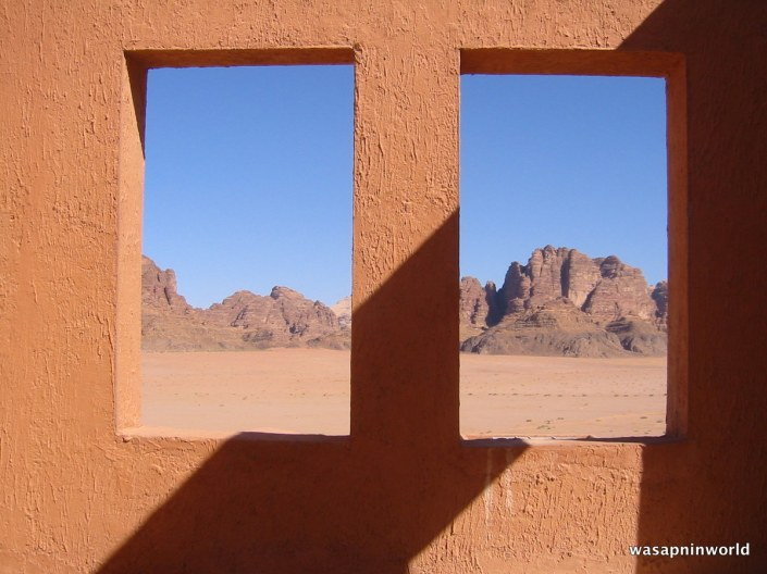Looking through the desert window