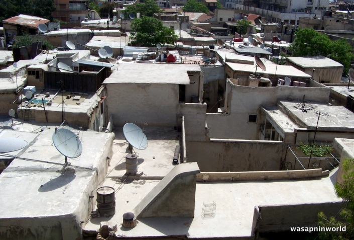Syrian rooftop