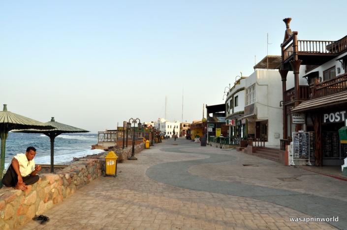 Quiet streets of Dahab